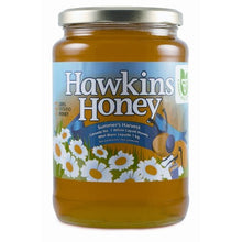 Hawkins Ontario liquid white honey in glass jar