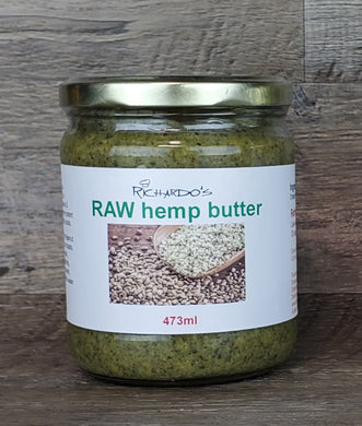 RAW Hemp Butter