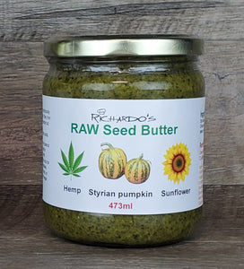 RAW Seed Butter (hemp, Styrian pumpkin, sunflower)