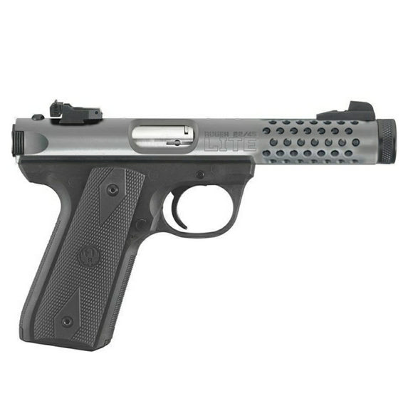 Ruger 22/45 Lite, threaded barrel [.22 LR]
