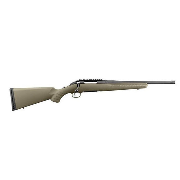 Ruger American with threaded barrel [.300 BLK]
