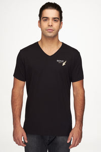 Men T-Shirt V-Neck