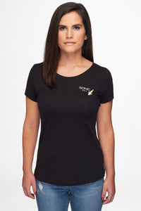 Women T-Shirt Round Neck
