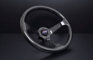 DND FULL CARBON FIBER STEERING WHEEL