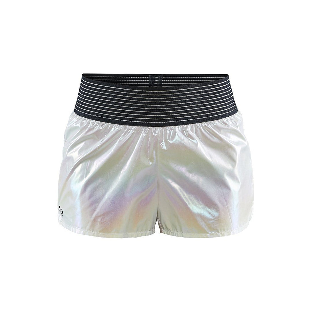 WOMEN'S UNTMD SHINY TRAINING SHORTS