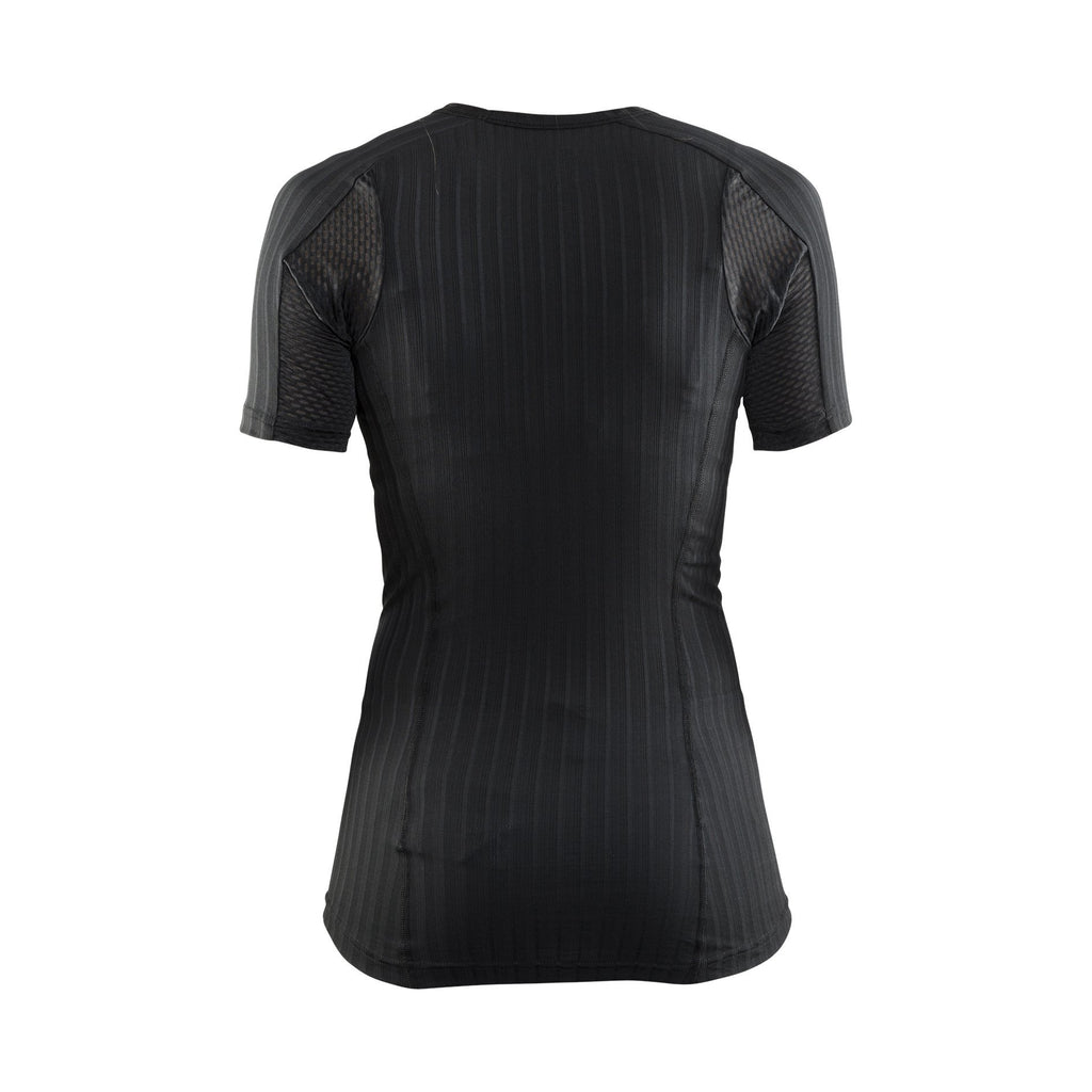 Craft Sportswear Womens Active Extreme 2.0 Round Neck Short Sleeve Tight Fit Base Layer Top
