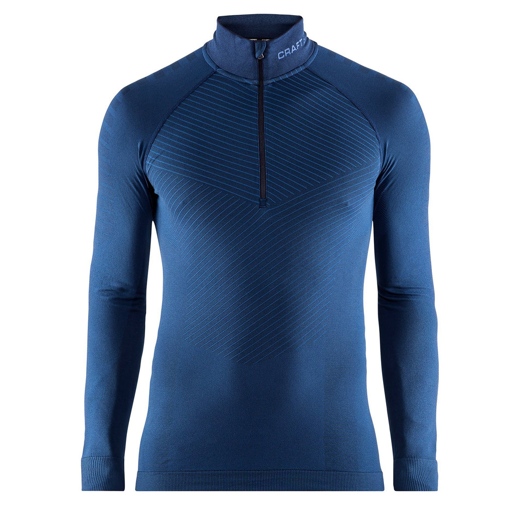 Men's Active Intensity Zip Neck Baselayer