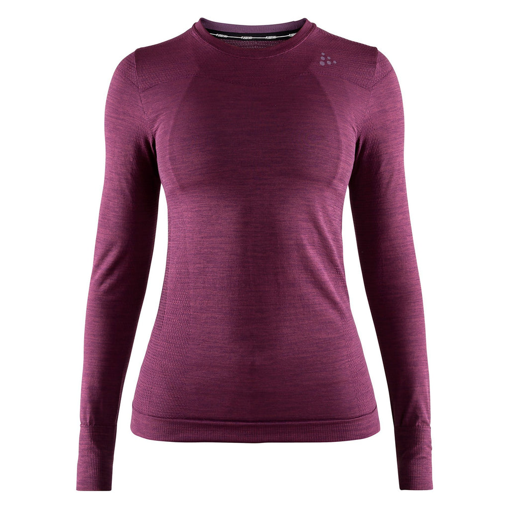 Craft Fuseknit Comfort Long Sleeve Baselayer Purple