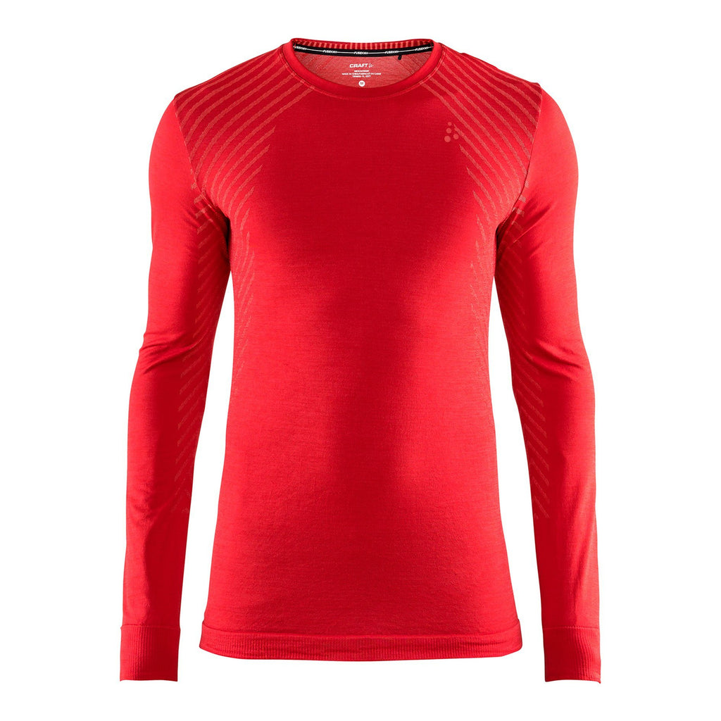 Craft Performance Fuseknit Baselayer Red