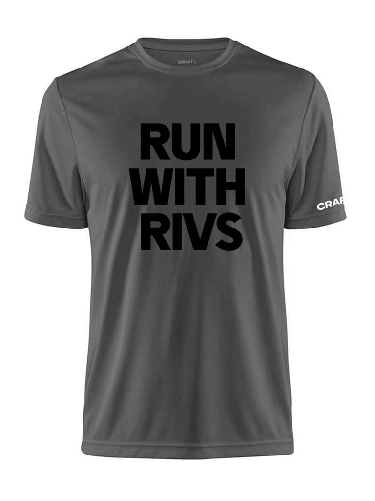 Run with Rivs Tech Tee Mens Craft Sportswear NA