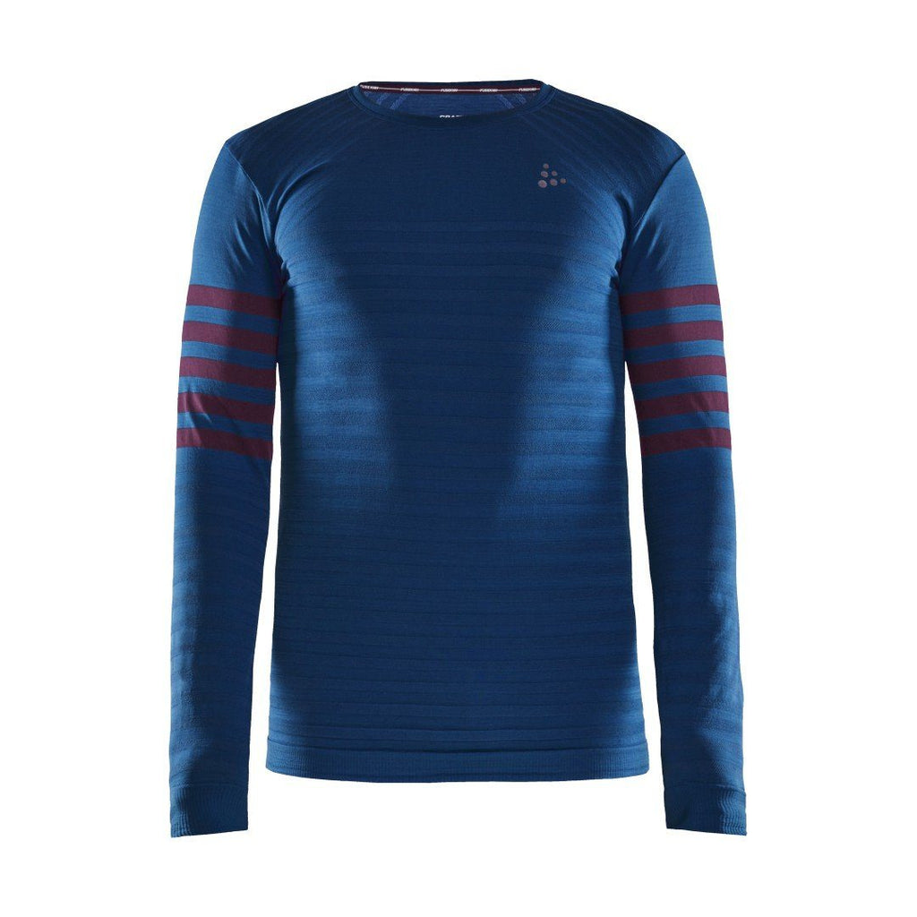MEN'S FUSEKNIT COMFORT BLOCKED BASELAYER Craft Sportswear NA