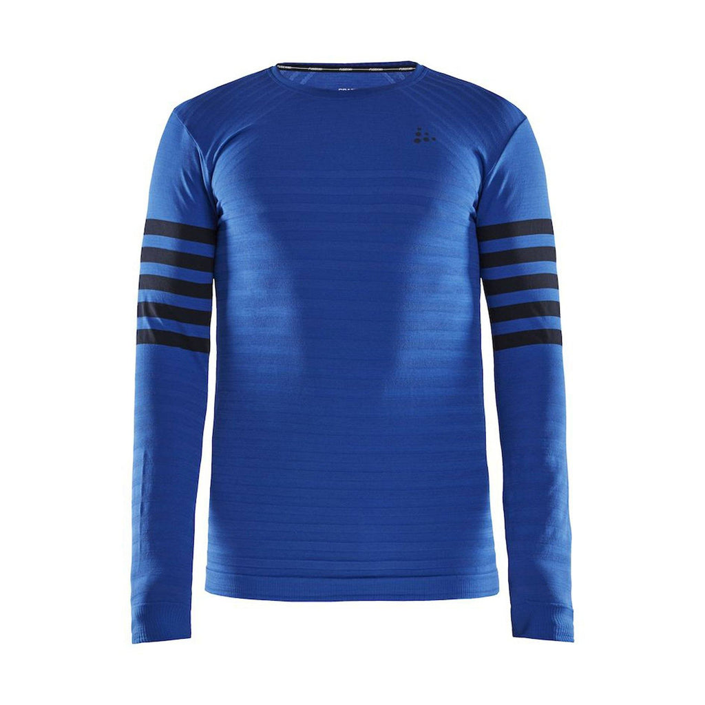 Men's Fuseknit Comfort Blocked Crew Baselayer