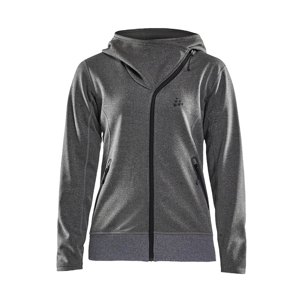 Women's Sports Fleece Assymertic Midlayer