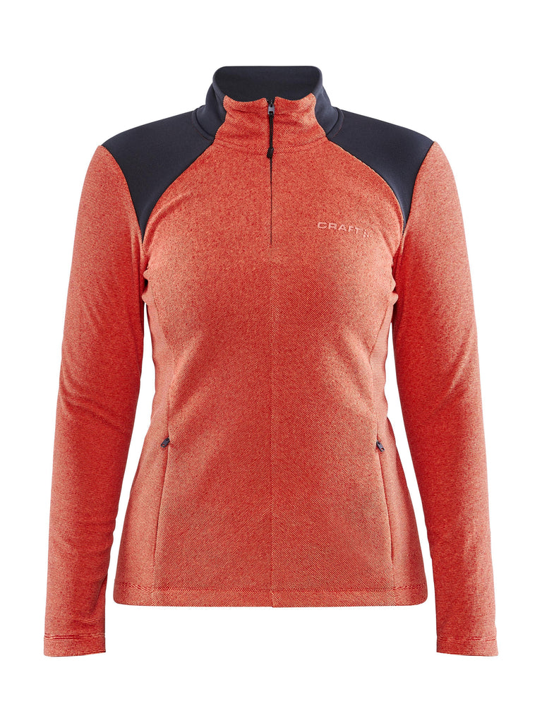 WOMEN'S CORE EDGE THERMAL MIDLAYER Women's New Arrivals Craft Sportswear NA