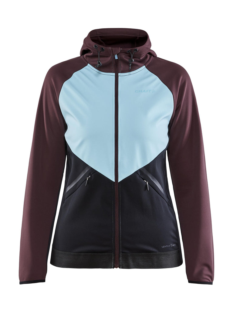 WOMEN'S GLIDE HOOD SOFTSHELL JACKET