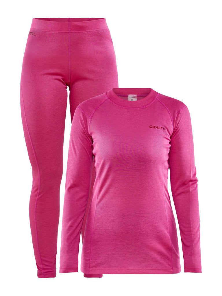 WOMEN'S CORE WARM BASELAYER SET Craft Sportswear NA