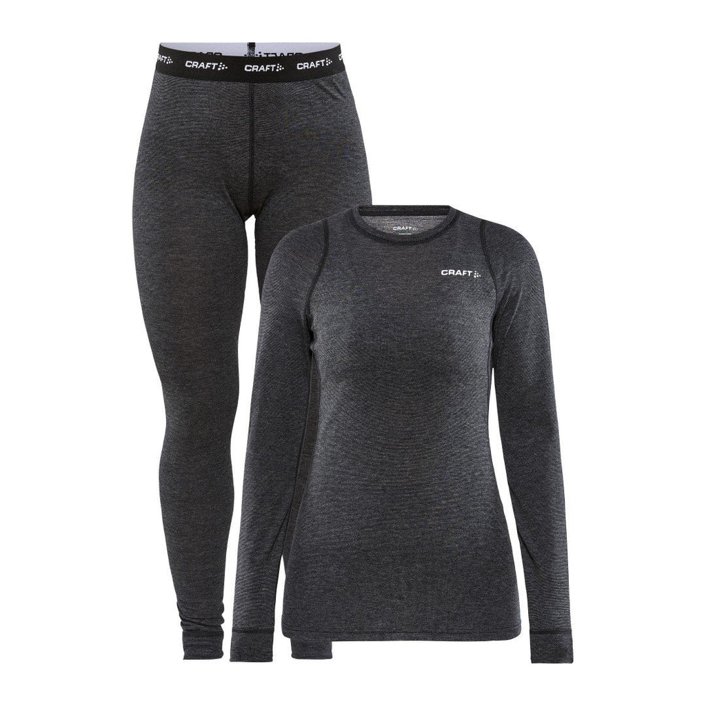 WOMEN'S CORE WOOL MERINO SET Craft Sportswear NA