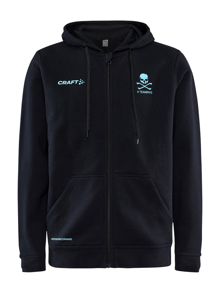 Men's Team Rivs Zone FZ Hoodie Craft Sportswear NA
