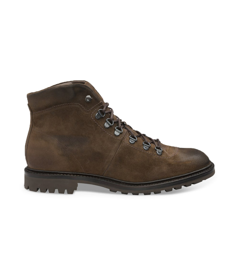 Ghete Hiker Brown Suede