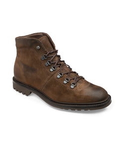 Hiker Brown Suede Boots