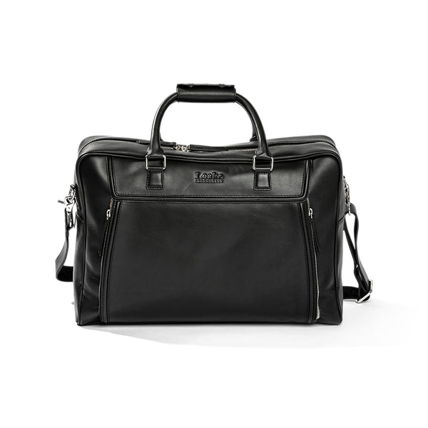 Black Aviator Bag