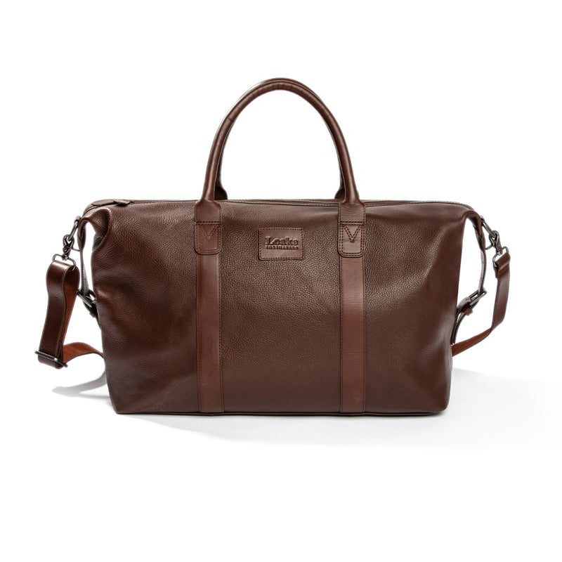 Balmoral Tobacco Weekend Bag