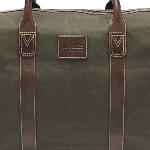 Balmoral Olive Weekend Bag