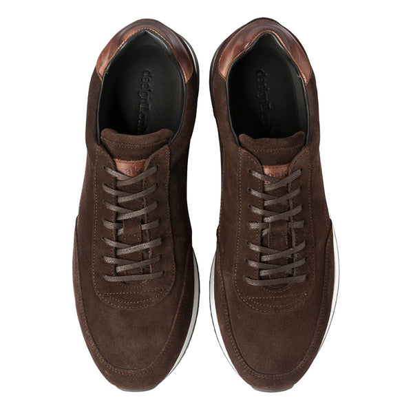 Trainer Bannister Dark Brown Suede