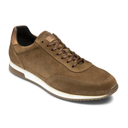 Trainer Bannister Tan Suede