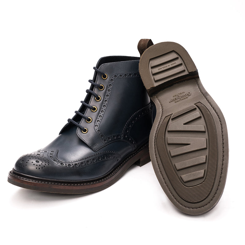Bedale Navy boots