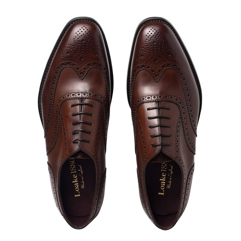 Pantofi Buckingham Dark Brown