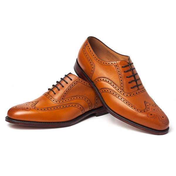Buckingham Tan shoes