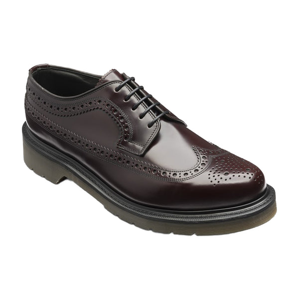 Derby 624 Oxblood shoes