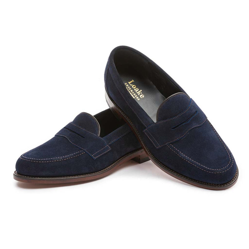 Eton Navy shoes
