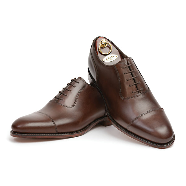 Evans Shoes Dark Brown
