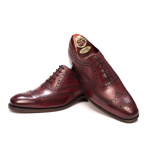 Fearnley Burgundy shoes