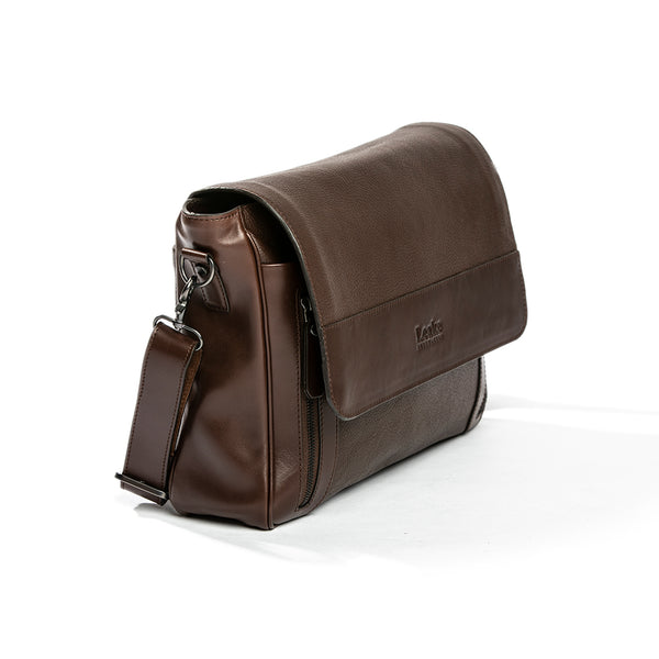 Geanta Mesager Horseguards Dark Brown