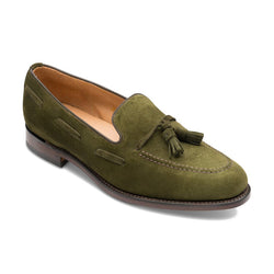 Loafer Lincoln Olive Suede Shoes