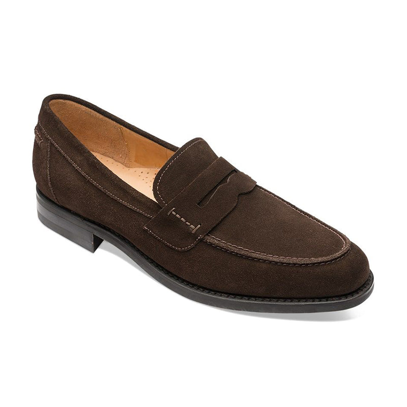 Pantofi Loafer 356 Dark Brown Suede