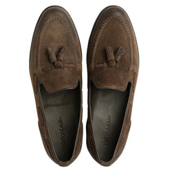 Loafer Locke Brown Suede Shoes