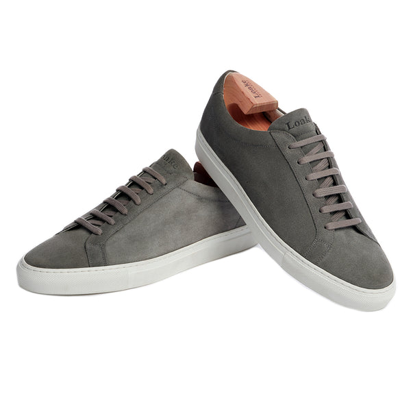 Gray Sprint Leather Sneaker