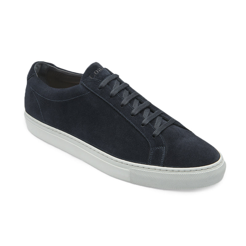 Navy Sprint Leather Sneaker