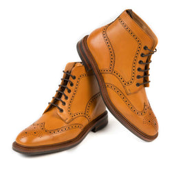 Wolf Tan boots