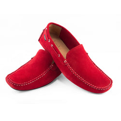 Donington Red Suede Shoes