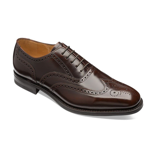 Pantofi Oxford 302 Dark Brown