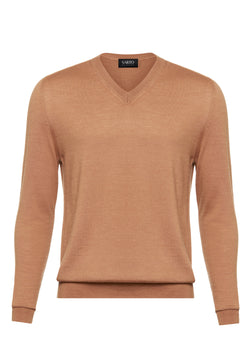 Cashmere & Silk Fawn Sweater