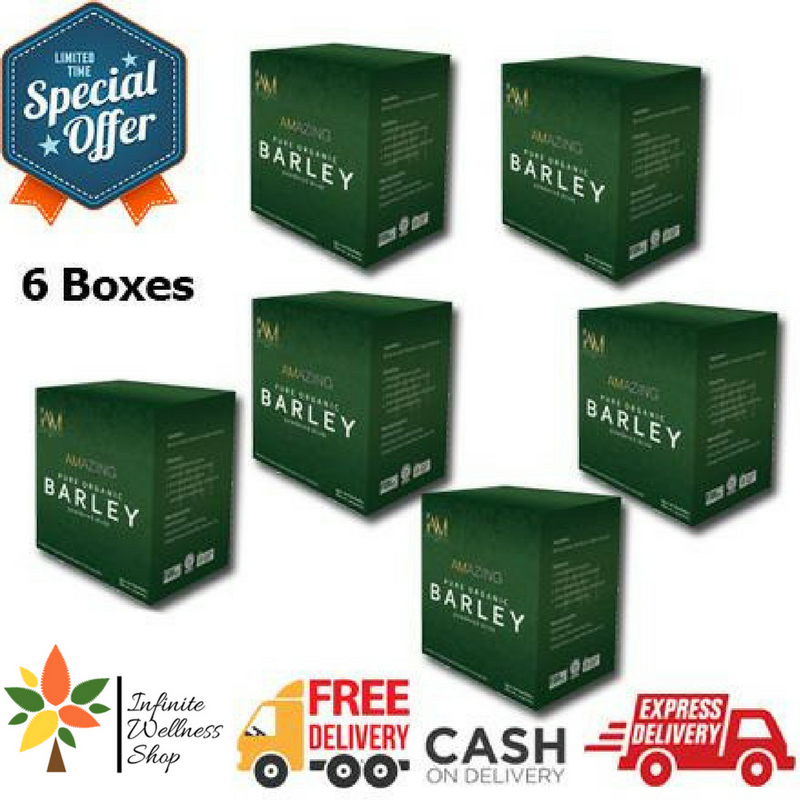 AMAZING PURE ORGANIC BARLEY (60 SACHETS) (60 DAYS PROGRAM) PROMO D
