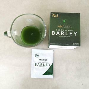 AMAZING PURE ORGANIC BARLEY (50 SACHETS) (50 DAYS PROGRAM) PROMO E