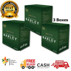 AMAZING PURE ORGANIC BARLEY (30 SACHETS) (30 DAYS PROGRAM) PROMO B
