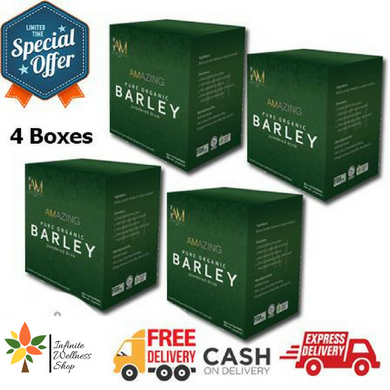 AMAZING PURE ORGANIC BARLEY (40 SACHETS) (40 DAYS PROGRAM) PROMO C